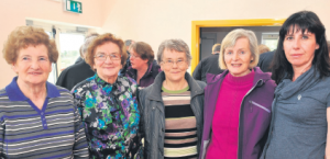 MARY Murphy, Mary Sweeney, Bridget Egan, Dell O'Connell and Jackie O'Connell
