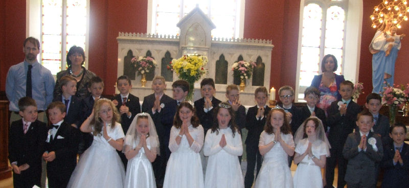 First Holy Communion , May 10th 2015 , Claran Church